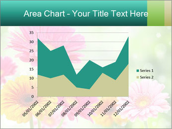 Colored flowers PowerPoint Template - Slide 53