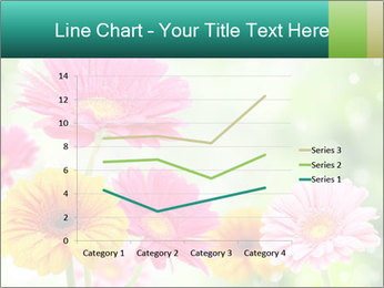 Colored flowers PowerPoint Template - Slide 54