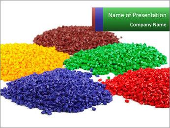 Colorful plastic Modèles des présentations  PowerPoint