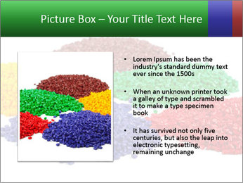 Colorful plastic PowerPoint Template - Slide 13
