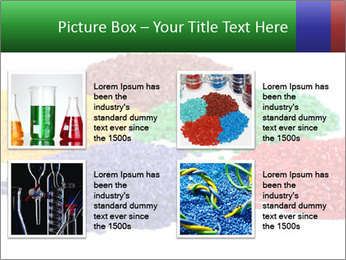 Colorful plastic PowerPoint Template - Slide 14