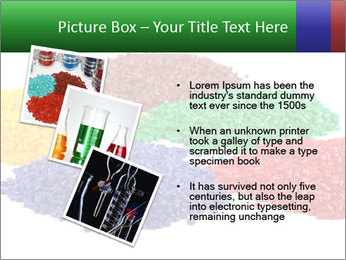 Colorful plastic PowerPoint Template - Slide 17