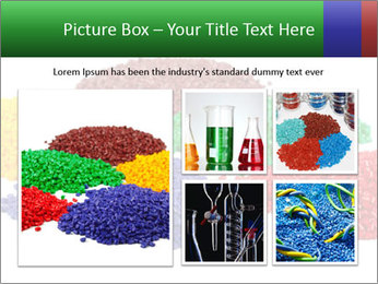 Colorful plastic PowerPoint Template - Slide 19