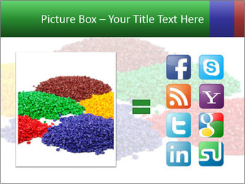Colorful plastic PowerPoint Template - Slide 21