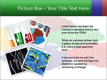 Colorful plastic PowerPoint Template - Slide 23