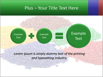 Colorful plastic PowerPoint Template - Slide 75