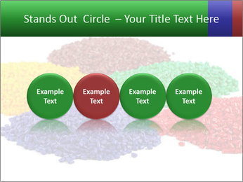 Colorful plastic PowerPoint Template - Slide 76
