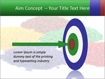 Colorful plastic PowerPoint Template - Slide 83