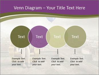 Woman sitting PowerPoint Template - Slide 32