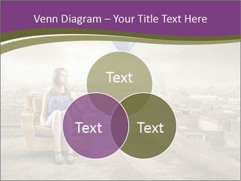 Woman sitting PowerPoint Template - Slide 33