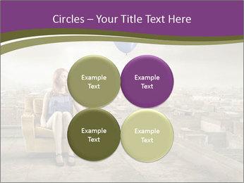 Woman sitting PowerPoint Template - Slide 38