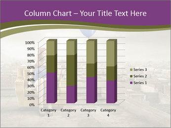 Woman sitting PowerPoint Template - Slide 50