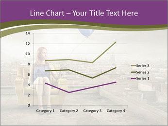 Woman sitting PowerPoint Template - Slide 54