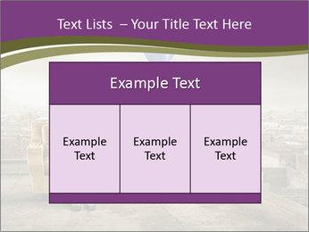 Woman sitting PowerPoint Template - Slide 59