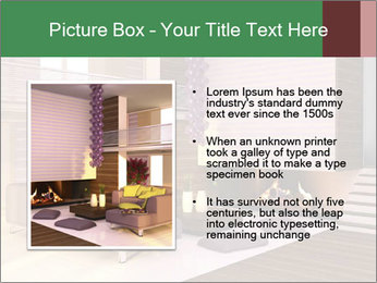 Interior of the house PowerPoint Template - Slide 13