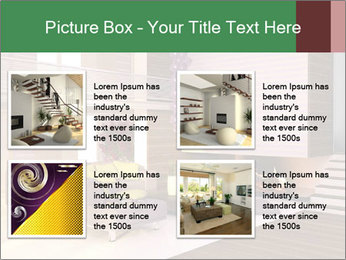 Interior of the house PowerPoint Template - Slide 14