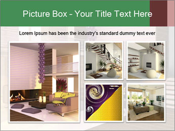 Interior of the house PowerPoint Template - Slide 19