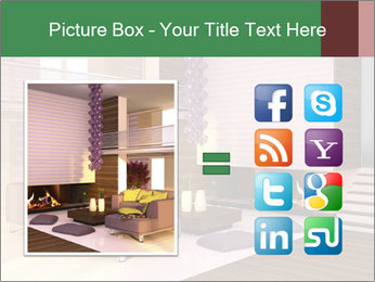 Interior of the house PowerPoint Template - Slide 21