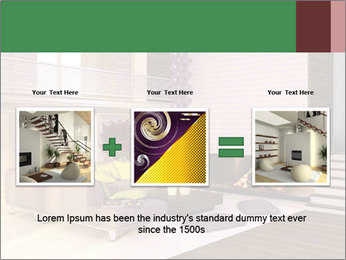 Interior of the house PowerPoint Template - Slide 22