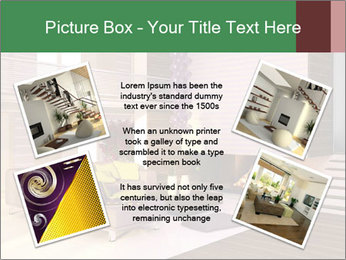 Interior of the house PowerPoint Template - Slide 24