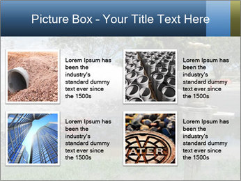 Water Pipes PowerPoint Templates - Slide 14