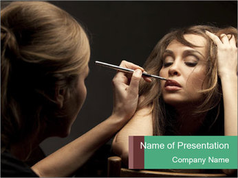 Professional Make-up PowerPoint Templates - Slide 1