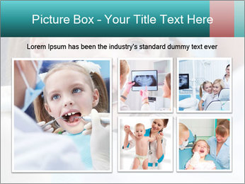 Child examines PowerPoint Template - Slide 19