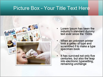 Child examines PowerPoint Template - Slide 20