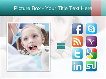 Child examines PowerPoint Template - Slide 21