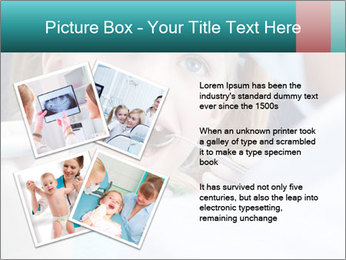 Child examines PowerPoint Template - Slide 23