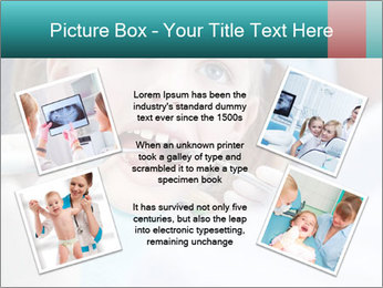Child examines PowerPoint Template - Slide 24