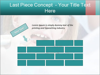 Child examines PowerPoint Template - Slide 46