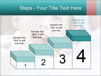Child examines PowerPoint Template - Slide 64