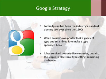 Three businesspeople PowerPoint Template - Slide 10