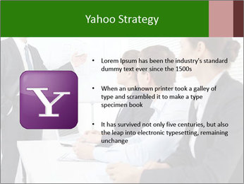 Three businesspeople PowerPoint Template - Slide 11