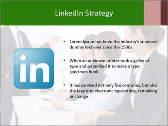 Three businesspeople PowerPoint Template - Slide 12