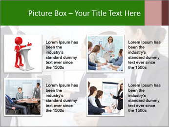 Three businesspeople PowerPoint Template - Slide 14