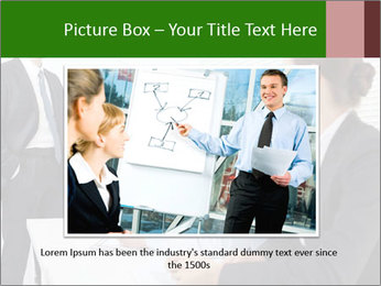 Three businesspeople PowerPoint Template - Slide 15