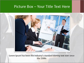 Three businesspeople PowerPoint Template - Slide 16