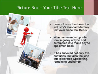 Three businesspeople PowerPoint Template - Slide 17