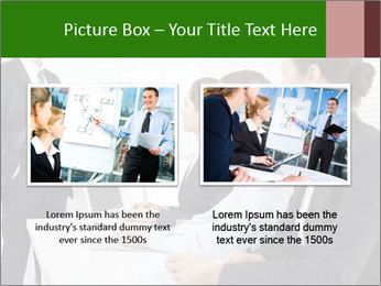 Three businesspeople PowerPoint Template - Slide 18