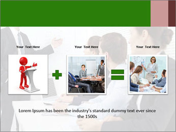 Three businesspeople PowerPoint Template - Slide 22