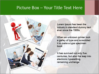 Three businesspeople PowerPoint Template - Slide 23