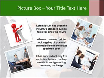 Three businesspeople PowerPoint Template - Slide 24