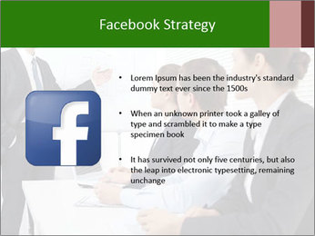 Three businesspeople PowerPoint Template - Slide 6