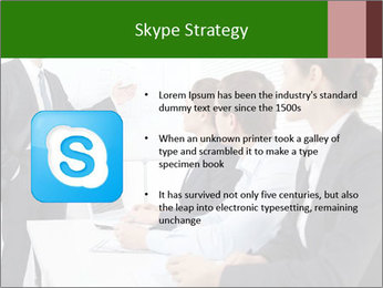 Three businesspeople PowerPoint Template - Slide 8
