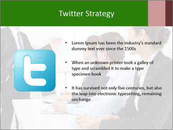 Three businesspeople PowerPoint Template - Slide 9