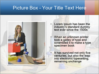 Blonde woman PowerPoint Template - Slide 13