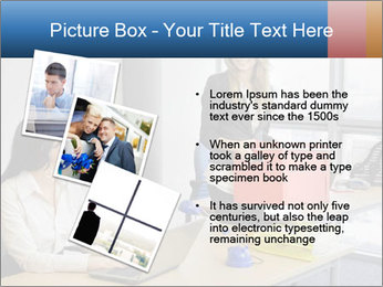 Blonde woman PowerPoint Template - Slide 17