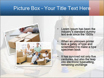Blonde woman PowerPoint Template - Slide 20